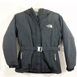 The North Face Goose Down Belted Jacket Parka Coat